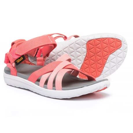 Teva Sanborn Sport Sandals (For Women) in Coral