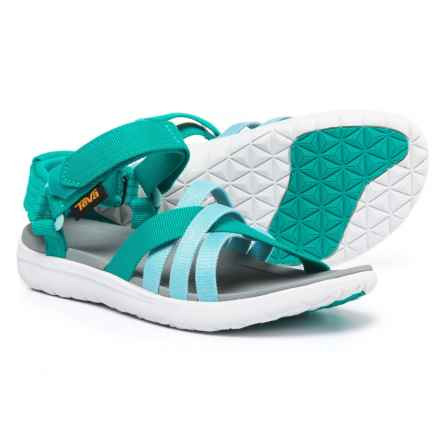 Teva Sanborn Sport Sandals (For Women) in Teal - Closeouts