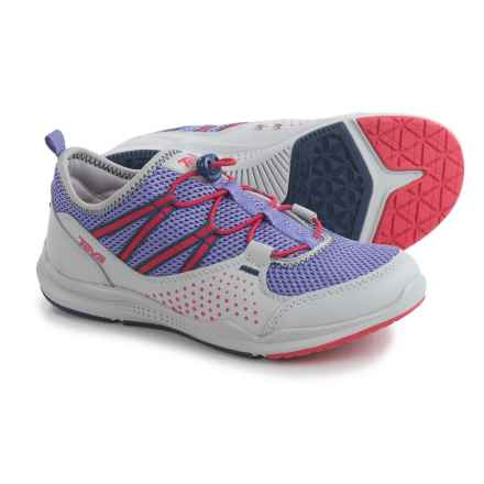 Teva Scamper Water Shoes (For Girls) in Grey/Purple/Pink - Closeouts
