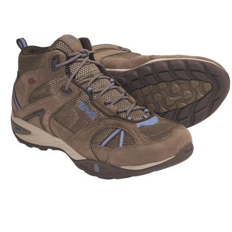 Teva Sky Lake Mid eVent® Hiking Boots - Waterproof (For Women) in Chocolate Chip