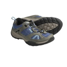 Teva Sky Lake Trail Shoes - Leather (For Kids and Youth) in Folkstone Grey - Closeouts