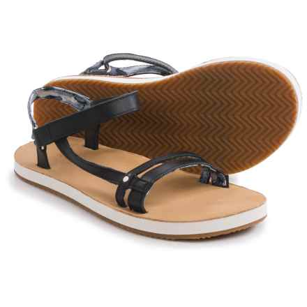 Teva Slim Universal Sandals (For Women) in Black - Closeouts