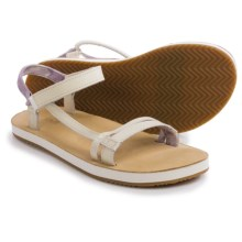 Teva Slim Universal Sandals (For Women) in White - Closeouts