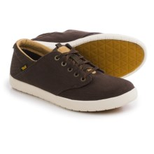 Teva Sterling Lace Canvas Shoes (For Men) in Brown - Closeouts