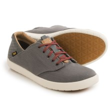 Teva Sterling Lace Canvas Shoes (For Men) in Grey - Closeouts