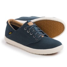 Teva Sterling Lace Canvas Shoes (For Men) in Navy - Closeouts