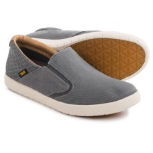 Teva Sterling Shoes - Canvas, Slip-Ons (For Men) in Grey - Closeouts