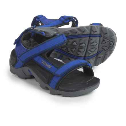 Teva Tanza Sport Sandals (For Kids and Youth) in Blue/Grey - Closeouts