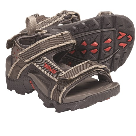 Teva Tanza Sport Sandals (For Kids and Youth) in Dark Olive