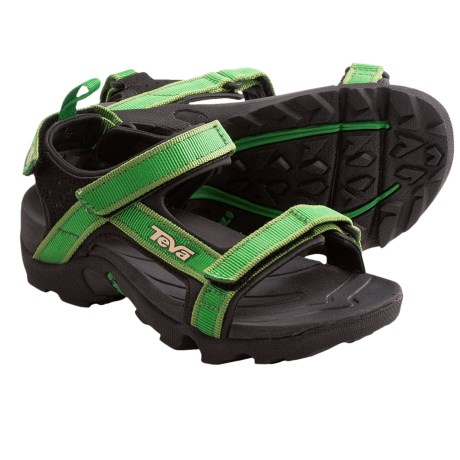 Teva Tanza Sport Sandals (For Kids and Youth) in Green