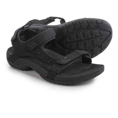 Teva Tanza Sport Sandals (For Men) in Black
