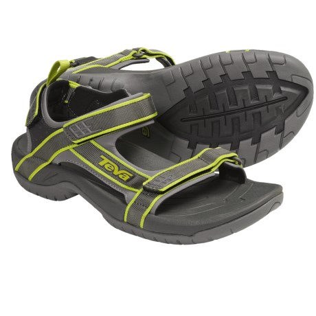 Teva Tanza Sport Sandals (For Men) in Black/Red