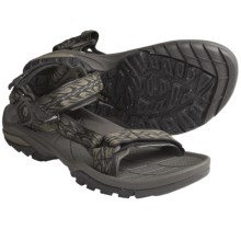 Teva Terra FI 3 Sport Sandals (For Men) in Firetread Dark Olive - Closeouts