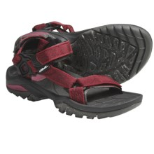 Teva Terra FI 3 Sport Sandals (For Women) in Bintou Red - Closeouts