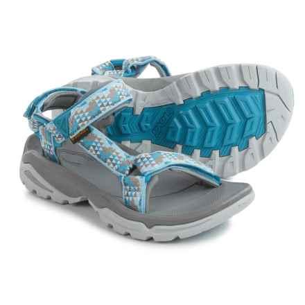 Teva Terra Fi 4 Sport Sandals (For Women) in Palopo Blue - Closeouts