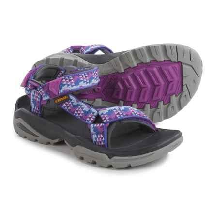 Teva Terra Fi 4 Sport Sandals (For Women) in Palopo Purple - Closeouts