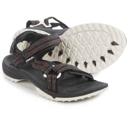 Teva Terra Fi Lite Sandals (For Women) in City Lights Black Multi - Closeouts