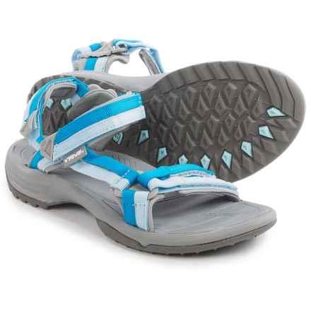Teva Terra Fi Lite Sandals (For Women) in Cool Blue - Closeouts
