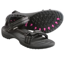 Teva Terra Fi Lite Sandals (For Women) in Double Zipper Black - Closeouts