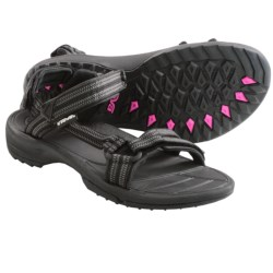 Teva Terra Fi Lite Sandals (For Women) in Double Zipper Black