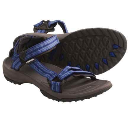 Teva Terra Fi Lite Sandals (For Women) in Double Zipper Blue - Closeouts