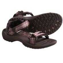 Teva Terra Fi Lite Sandals (For Women) in Maat Brown - Closeouts