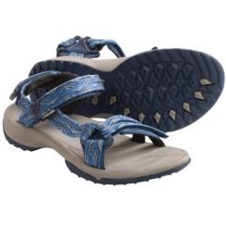 Teva Terra Fi Lite Sandals (For Women) in Trueno Blue