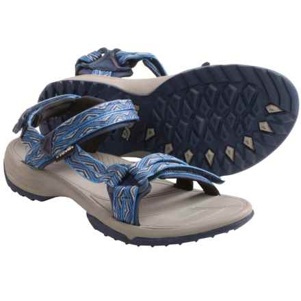 Teva Terra Fi Lite Sandals (For Women) in Trueno Blue - Closeouts