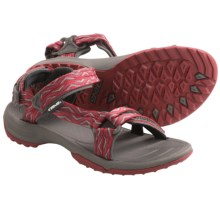 Teva Terra Fi Lite Sandals (For Women) in Trueno Red - Closeouts