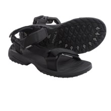 Teva Terra Fi Lite Sport Sandals (For Men) in Black - Closeouts