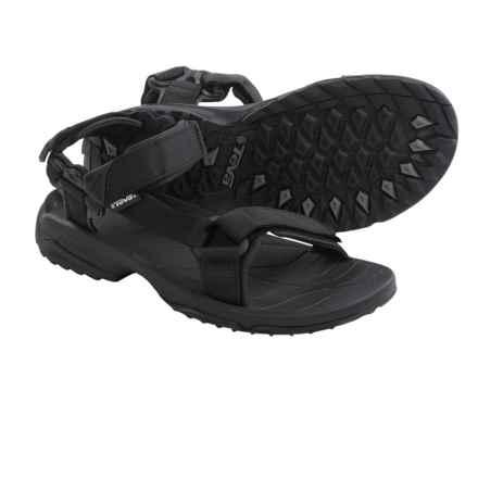 Teva Terra Fi Lite Sport Sandals (For Men) in Black - Closeouts