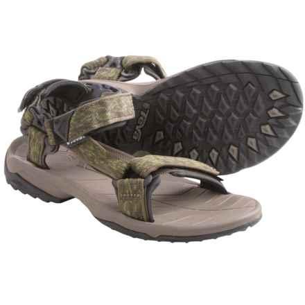 Teva Terra Fi Lite Sport Sandals (For Men) in Ceramic Green - Closeouts