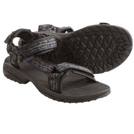 Teva Terra Fi Lite Sport Sandals (For Men) in Firetread Midnight - Closeouts