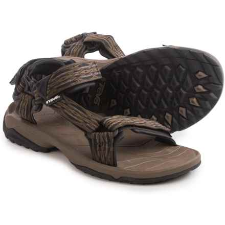 Teva Terra Fi Lite Sport Sandals (For Men) in Guide Brown - Closeouts