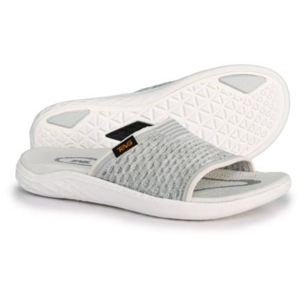f3b3f8b8721d Teva Terra-Float 2 Knit Slide Sandals (For Women) in Bright White