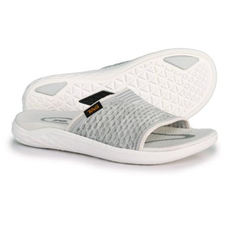 889963714 Teva Terra-Float 2 Knit Slide Sandals (For Women) in Bright White