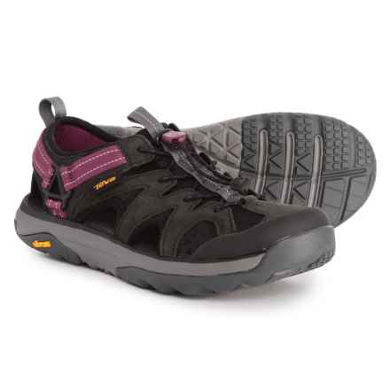 3c54517b645e Teva Terra-Float Active Lace Water Shoes (For Women) in Black - Closeouts