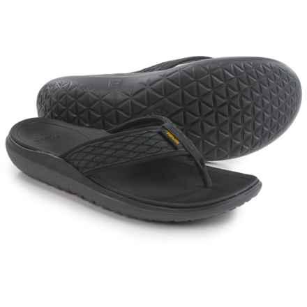 Teva Terra-Float Flip-Flops (For Men) in Black - Closeouts