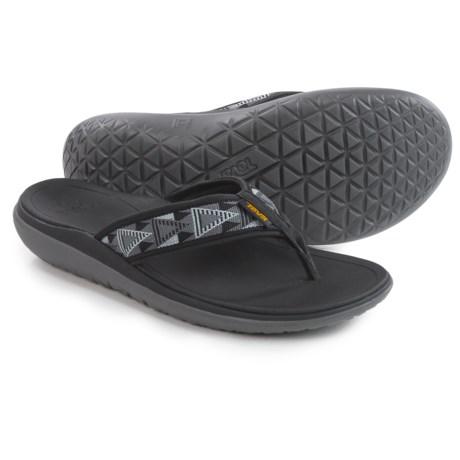 Teva Terra-Float Flip-Flops (For Men) in Mosaic Black/Dusk