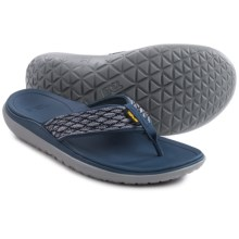 Teva Terra-Float Flip-Flops (For Men) in Navy - Closeouts