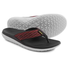 Teva Terra-Float Flip-Flops (For Men) in Red - Closeouts