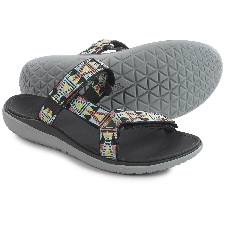 Teva Terra-Float Lexi Sport Sandals (For Women) in Mosaic Black Mult ...