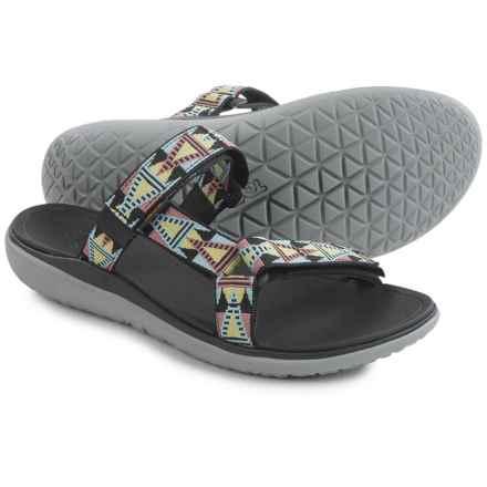 Teva Terra-Float Lexi Sport Sandals (For Women) in Mosaic Black Mult - Closeouts