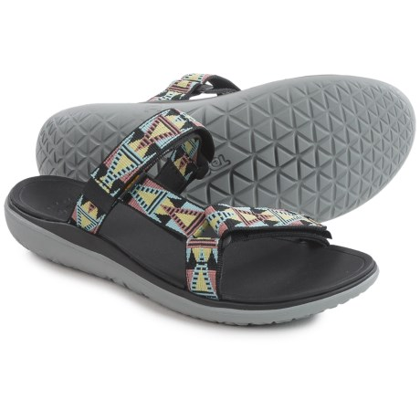 Teva Terra-Float Lexi Sport Sandals (For Women) in Mosaic Black Mult