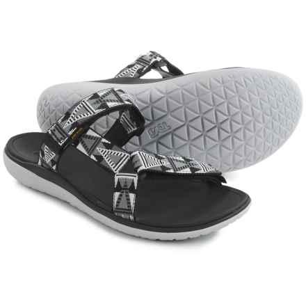 Teva Terra-Float Lexi Sport Sandals (For Women) in Mosaic Black - Closeouts