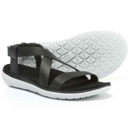 Teva Terra-Float Livia Lux Sandals (For Women) in Black - Closeouts