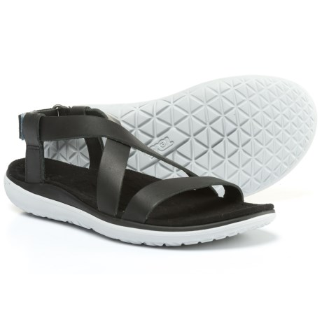Teva Terra-Float Livia Lux Sandals (For Women) in Black