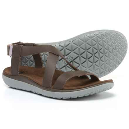 Teva Terra-Float Livia Lux Sandals (For Women) in Brown - Closeouts