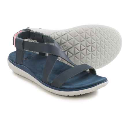 Teva Terra-Float Livia Lux Sandals (For Women) in Navy - Closeouts