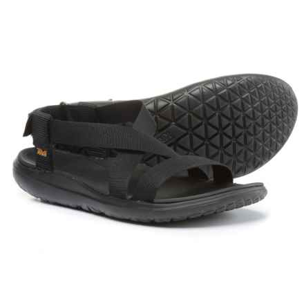 Teva Terra-Float Livia Sport Sandals (For Women) in Black/Black - Closeouts